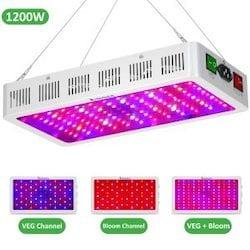 Exlenvce 1500W 1200W LED Grow Light
