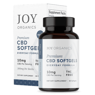 Joy Organics CBD Softgels