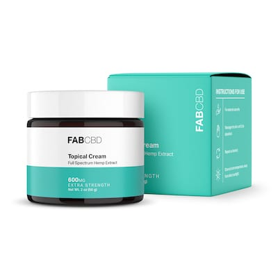 FAB CBD Topical Cream