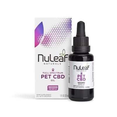 NuLeaf Full Spectrum Pet CBD Oil