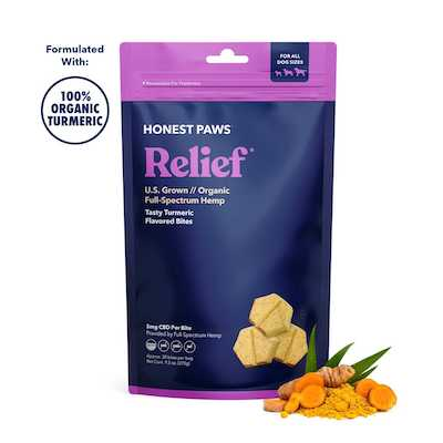 Honest Paws Relief Bites