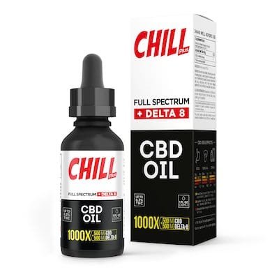 Chill Plus Full Spectrum CBD Oil