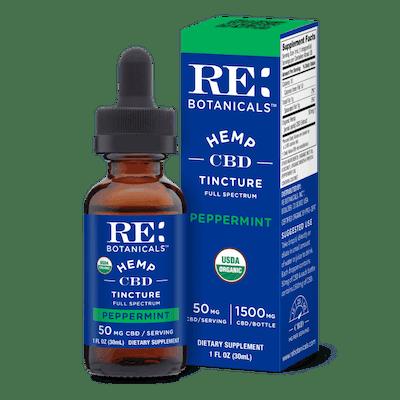re botanicals relief body oil